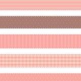 Shabby chic. provence style. 5 backgrounds Stock Image