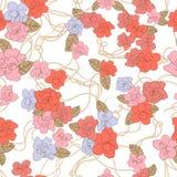 Shabby chic rose background Royalty Free Stock Photos