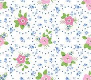 Shabby chic rose background Stock Images