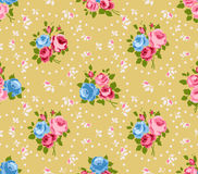 Shabby chic rose background Royalty Free Stock Photo