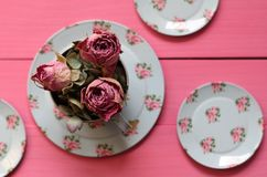 Shabby Chic Rose Buds Royalty Free Stock Image