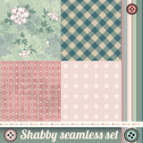 Shabby chic set Stock Images