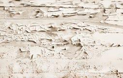 Shabby-Chic-Stil oder Weinlesehintergrund des weißen Holzes Lizenzfreies Stockfoto