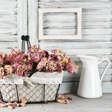Shabby chic still life Royalty Free Stock Photography