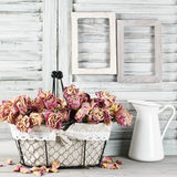 Shabby chic still life Stock Photography