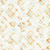 Shabby chic vintage floral spotted background Royalty Free Stock Photography