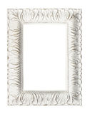 Shabby chic vintage picture frame, isolated. Stock Photo