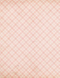 Shabby Chic vintage pink check tartan pattern. Background for scrapbooking, craft Stock Images