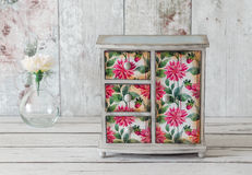 Shabby Chic Wardrobe Stock Photography