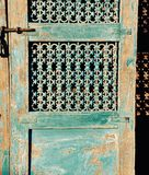Shabby Chic Wooden Door Designs Royalty Free Stock Images
