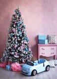 Shabby chick retro room christmas decoration Stock Photography