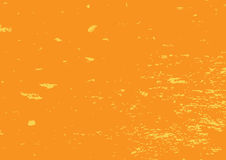 Shabby colored texture. Rectangular grunge background. Abstract. Shabby colored texture. Rectangular grunge background. Vector illustration. Orange surface with Stock Image