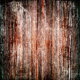 Shabby colored wood texture Stock Photography