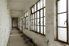 Shabby corridor Royalty Free Stock Images
