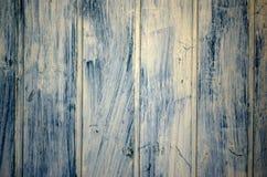 Shabby dark Wood Background. Blue shabby dark Wood Background Stock Images