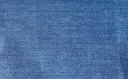 The shabby denim fabric background Stock Photo