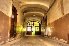 Shabby entrance Royalty Free Stock Photo
