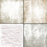 Shabby faded grungy textures Royalty Free Stock Image