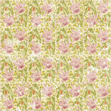 Shabby faded seamless floral pattern wallpaper Stock Photo