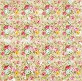 Παλαιά shabby floral ταπετσαρία εγγράφου Στοκ φωτογραφία με δικαίωμα ελεύθερης χρήσης