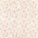Shabby flourish repeat pattern paper wallpaper royalty free illustration