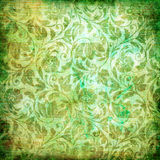 Shabby green patterns Royalty Free Stock Photography