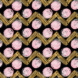 Shabby hand made pattern Stock Images