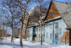 The shabby house Royalty Free Stock Photo