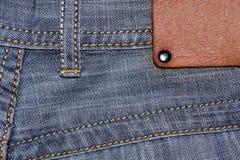Shabby jeans pocket Royalty Free Stock Photo