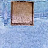 Shabby jeans pocket Royalty Free Stock Image