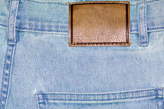 Shabby jeans pocket Stock Photo