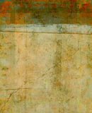 Shabby layered collage backdrop Royalty Free Stock Photography