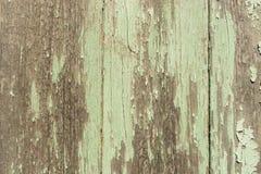 Shabby light green wood planks Stock Photos
