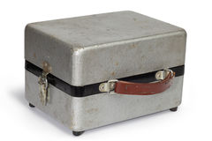 Shabby metal case Royalty Free Stock Image