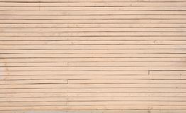 Shabby, painted, old wooden wall of beige, cream color. stock photography