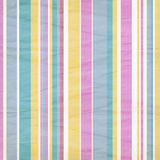 Shabby pastel striped background. In blue,  pink, yellow, white Royalty Free Stock Photography