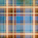 Shabby plaid background Royalty Free Stock Photography