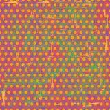 Shabby polka dot seamless texture Stock Photo