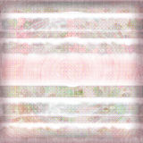 Shabby stripe background. An earthy, romantic, airbrushed background for scrapbooking and artwork Stock Photos