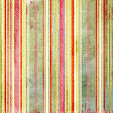 Shabby striped texture Stock Image