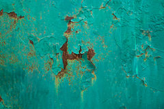 Shabby texture with cracked paint Royalty Free Stock Image
