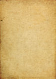 Shabby torn aged paper background Royalty Free Stock Photo