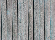 Shabby vertical light blue wooden planks, texture Royalty Free Stock Images