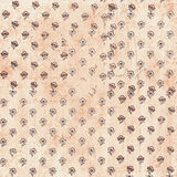 Shabby vintage floral pattern Royalty Free Stock Image