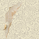 Shabby vintage wallpaper background Royalty Free Stock Photography