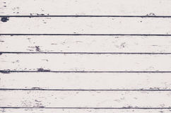 Shabby white boards background Royalty Free Stock Images