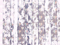 Free Shabby Wood-grain Texture White Washed With Distressed Hearts Pattern Stock Photo - 52770110