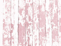 Shabby Wood-grain Texture White Washed With Distressed Peeling Paint Royalty Free Stock Photos