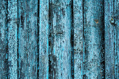 Shabby wooden board close-up. Background with blue colored, shabby wooden board close-up Stock Photos