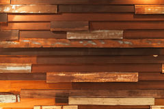 Shabby wooden wall Royalty Free Stock Photo